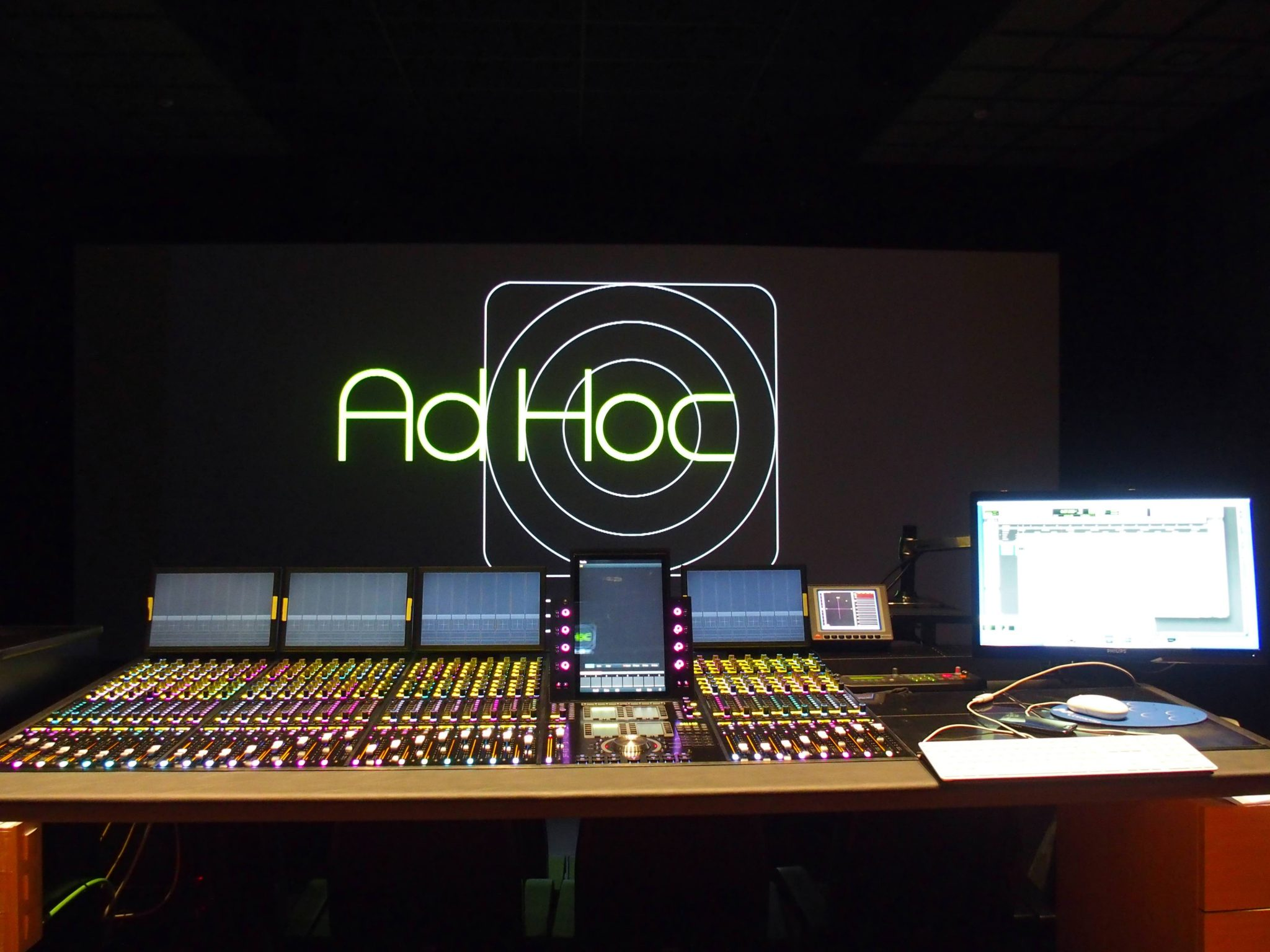 Mixing Rooms AdHoc Sound Studios