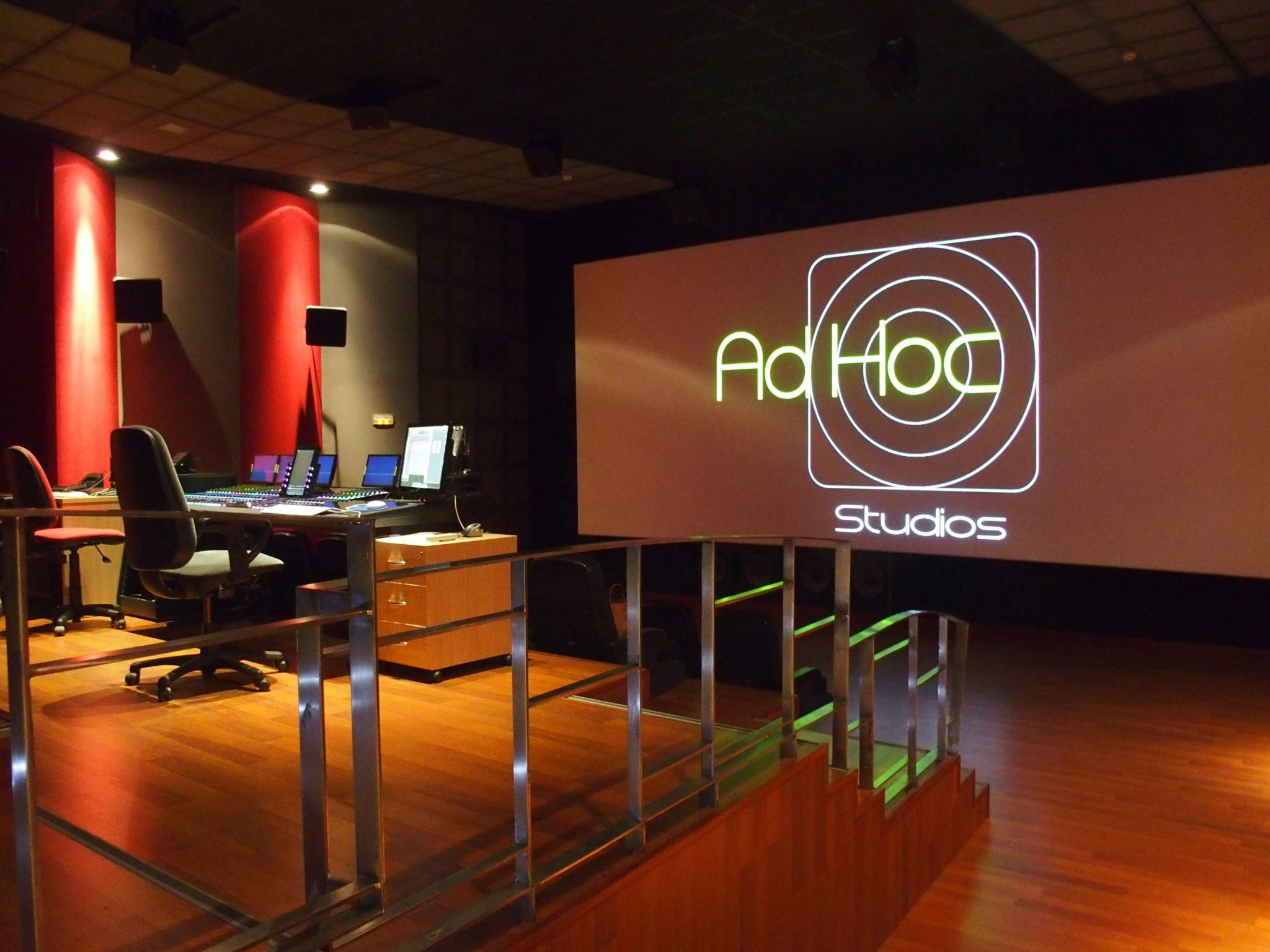 4k digital screening Adhoc Sound Studios